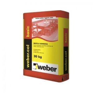 Adhesivo Weber