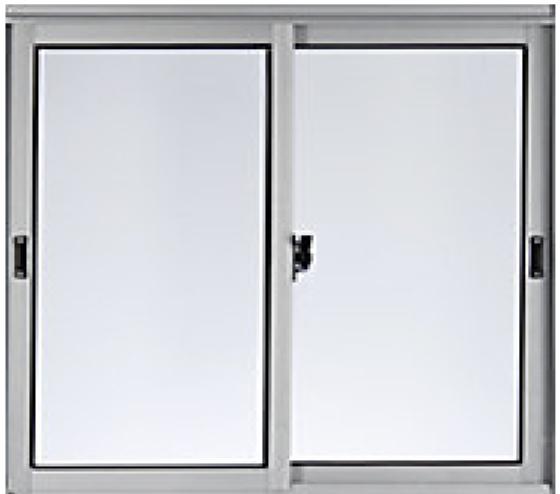 Materiales: ventana de aluminio