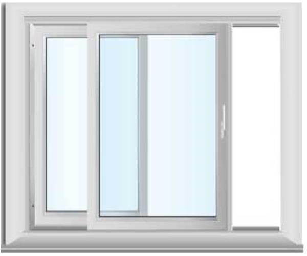 Materiales: ventanas de pvc.