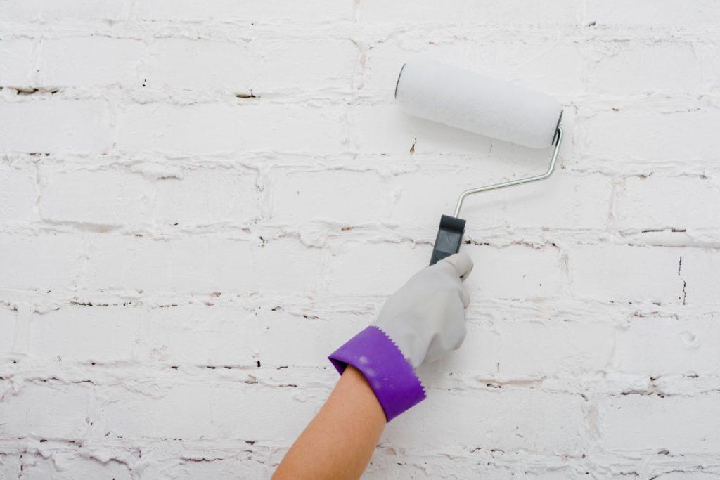 Aprendé cómo pintar una pared con humedad