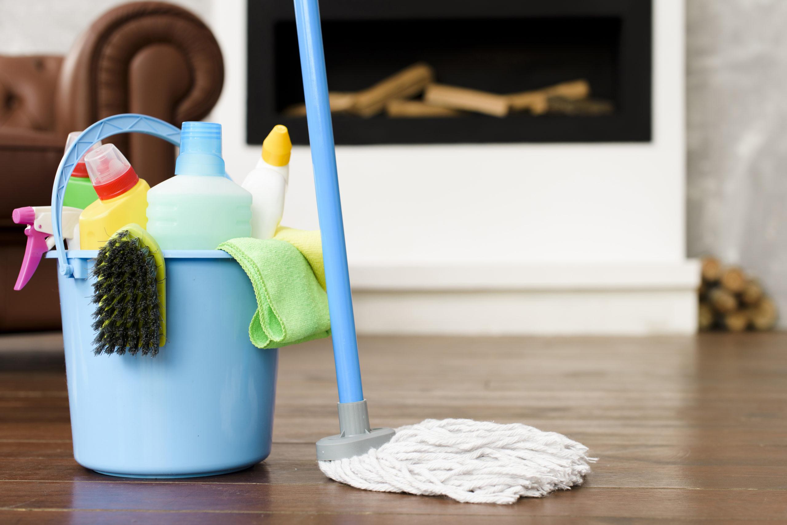 Cómo Desinfectar el Piso