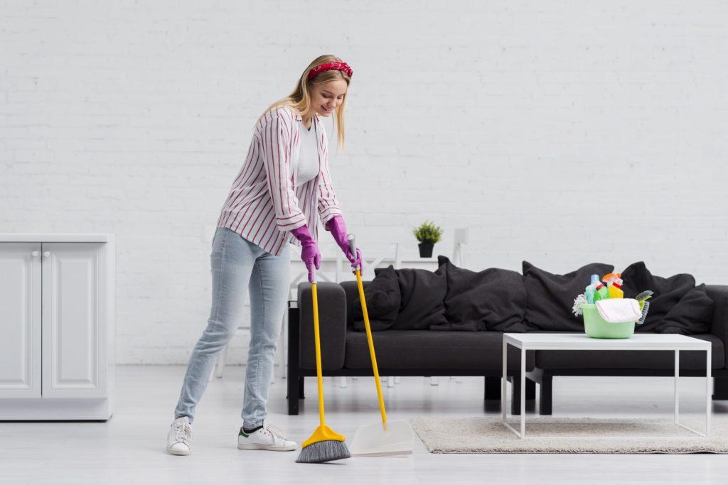 Limpieza del piso