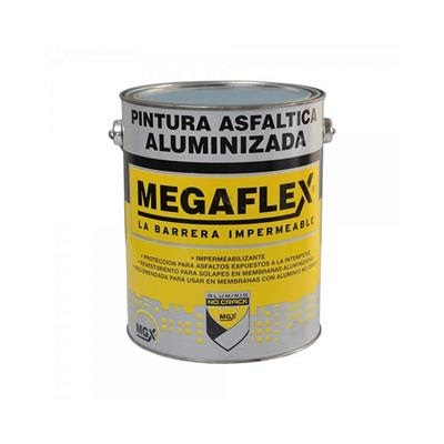 Para terminar de impermeabilizar tu techo usá pintura asfáltica aluminizada.