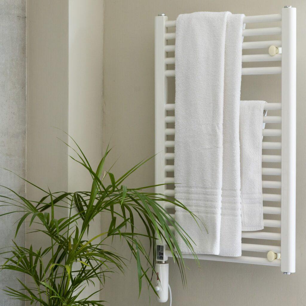 Los toalleros eléctricos son  una excelente opción para el invierno.