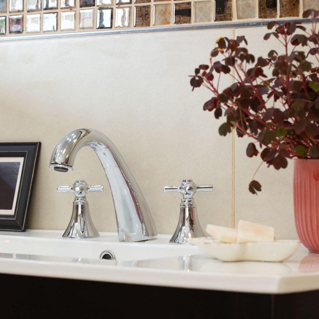 Decorá tu baño con plantines.