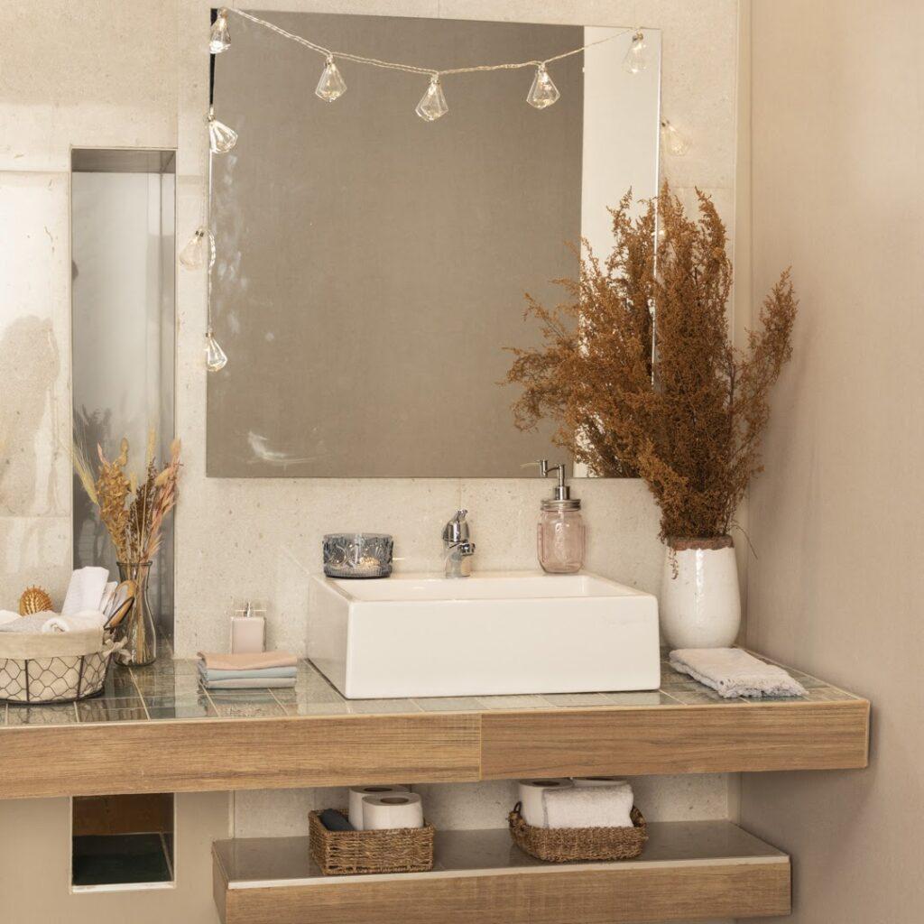 Tu baño puede ser tu ambiente  favorito.