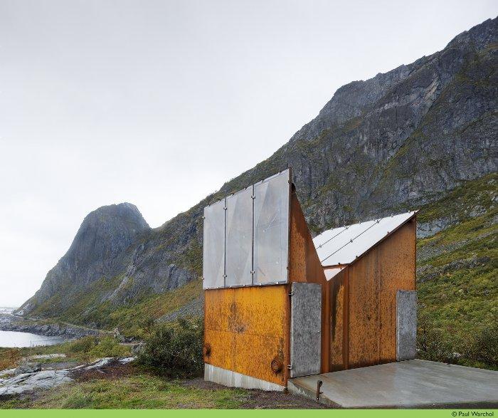 Baño público que vas a amar en Noruega