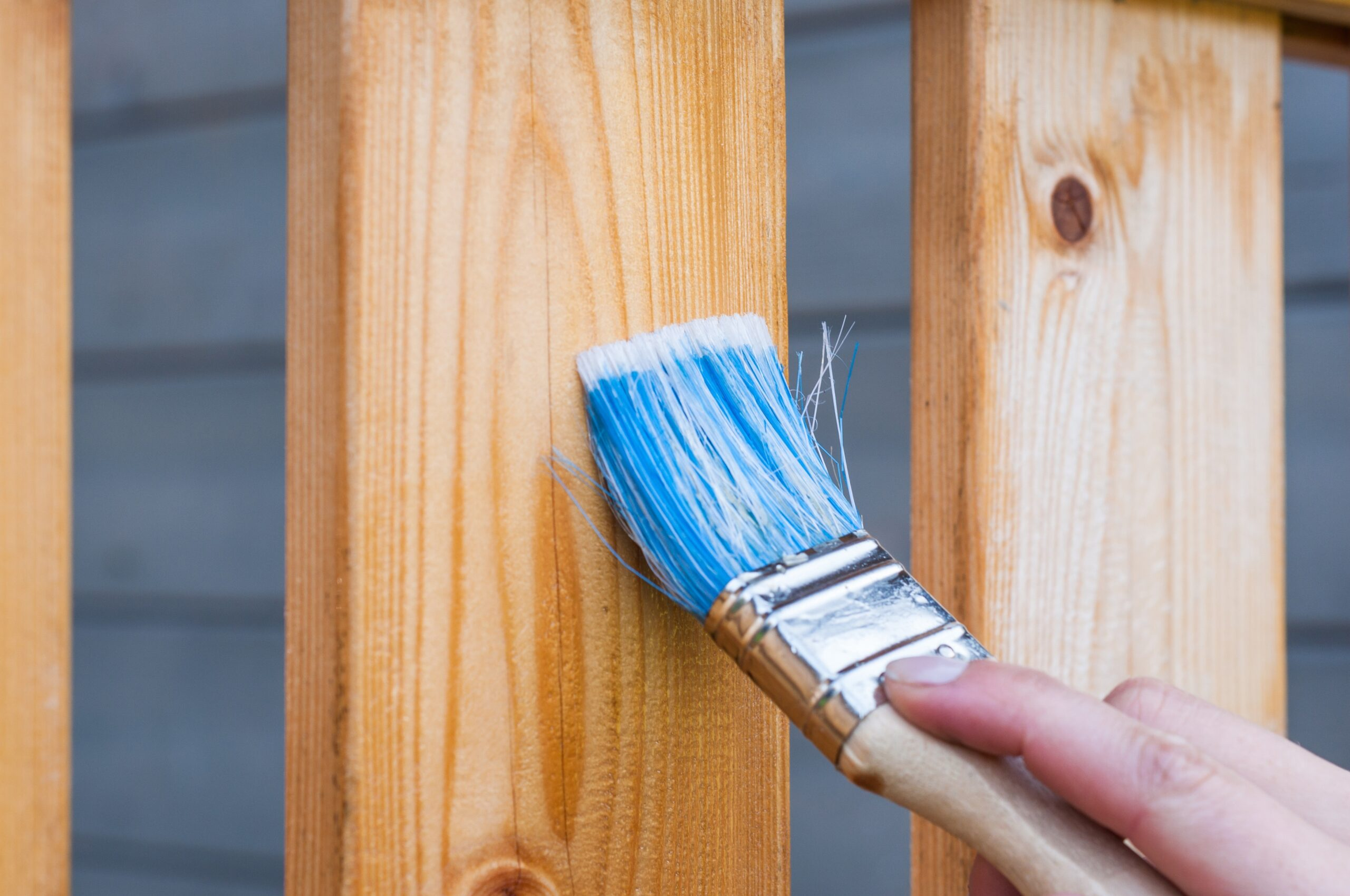 Cómo limpiar una brocha luego de pintar la casa